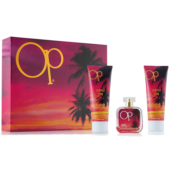 Op Simply Sun 3.4 oz Women Gift Set Perfume GST