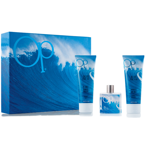 OP Blue 1.7 oz Men Gift Set Perfume GST