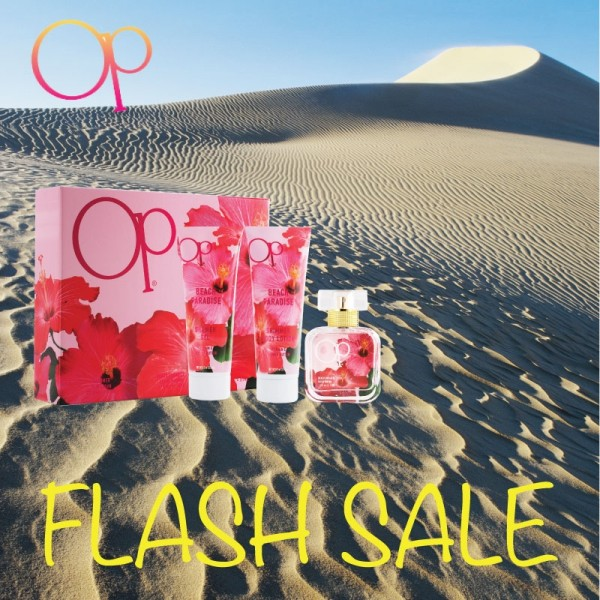 FLASH SALE - OP Beach Paradise 3.4 oz Women Gift Set Perfume GST